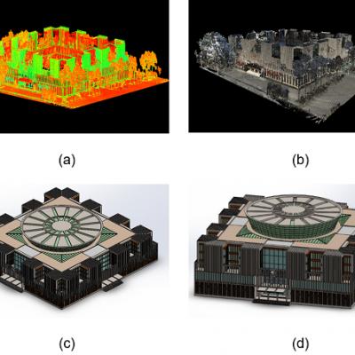 Ứng dụng LiDAR trong khảo sát, số hóa và dựng mô hình 3d các công trình kiến trúc